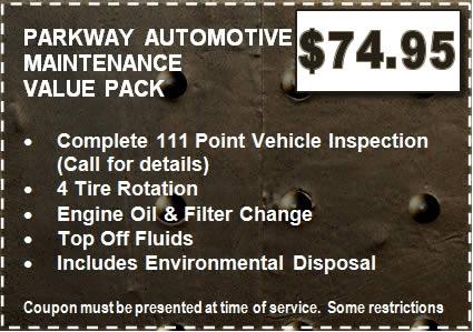 Car Repair Coupons in Little Rock Arkansas